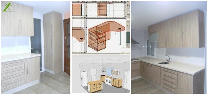 axis carpintería y diseño mobiliario de cocina a medida decoracion interiorismo badajoz extremadura