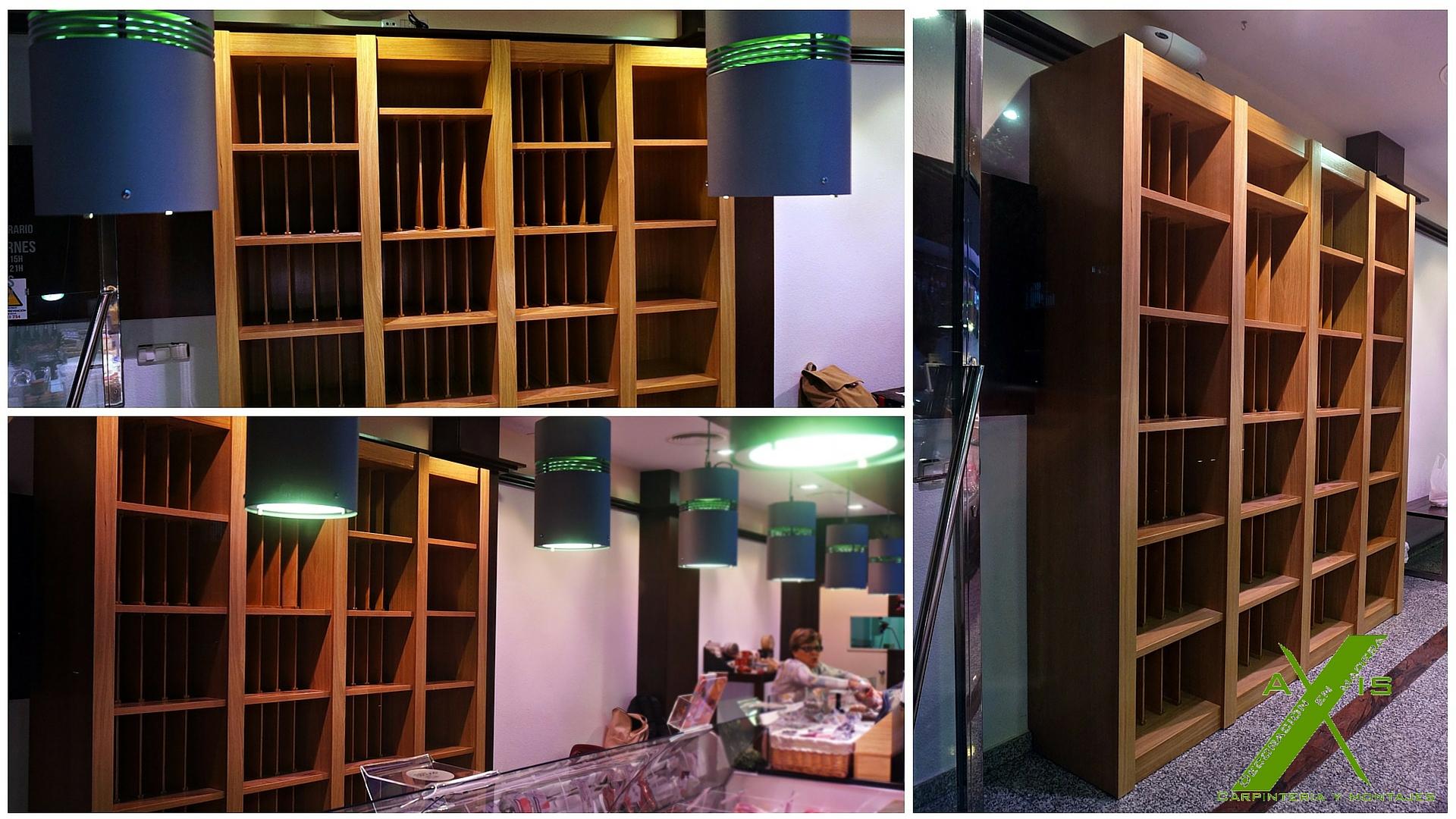 Muebles para vinoteca mueble para alojar frigorfico for Muebles para vinotecas