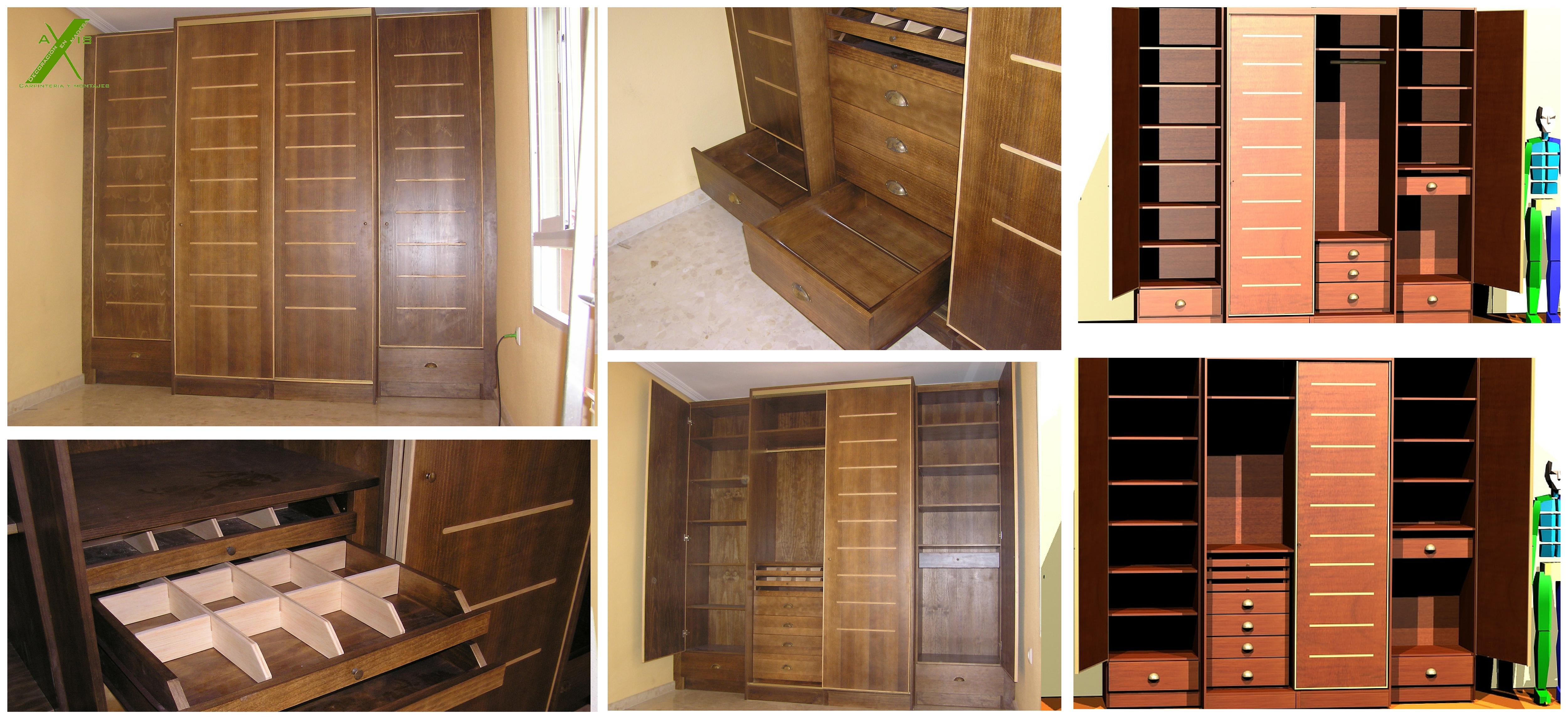 axis carpinteria y diseo muebles a medida vestidor badajoz extremadura 2