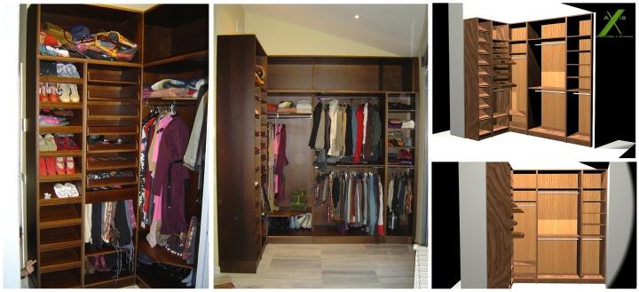 axis carpinteria y diseño muebles a medida vestidor badajoz extremadura