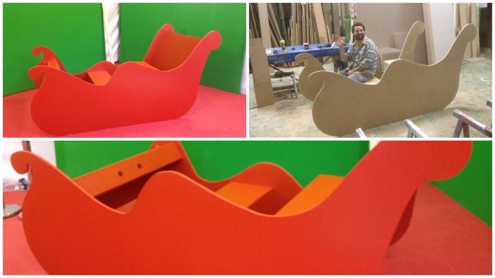trineo de navidad axis carpinteria y diseño tecnologia creativa badajoz extremadura