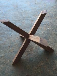 axis carpinteria y diseño mesa a medida decoracion interiorismo estrella entre vidrios badajoz extremadura (1)