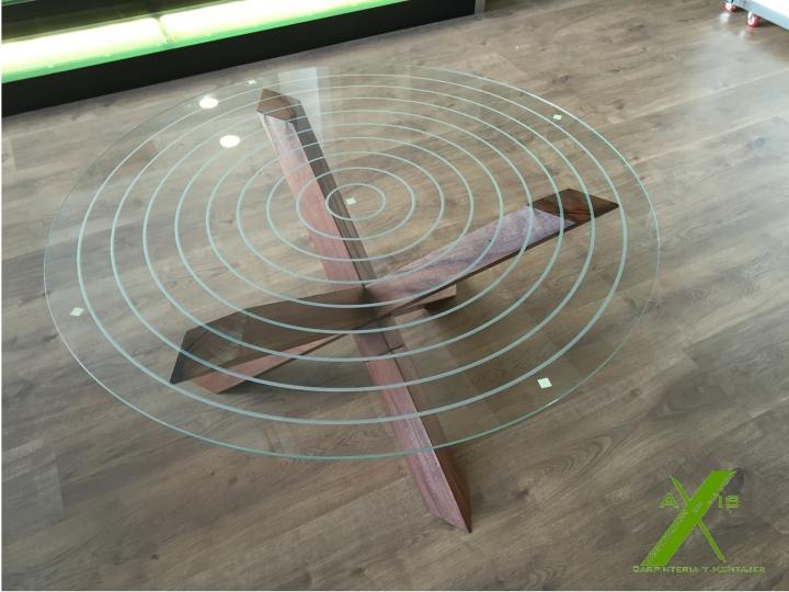 axis carpinteria y diseño mesa a medida decoracion interiorismo estrella entre vidrios badajoz extremadura (3)