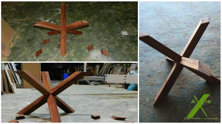 axis carpinteria y diseño mesa a medida decoracion interiorismo estrella entre vidrios badajoz extremadura (4)