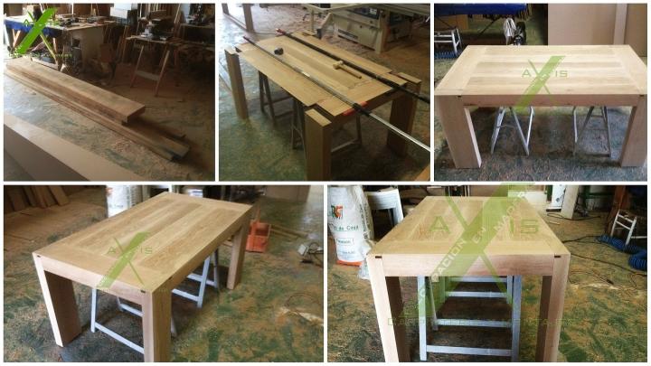 axis carpinteria y diseño mesa madera maciza interiorismo decoracion mueble a medida badajoz extermemadura (2)
