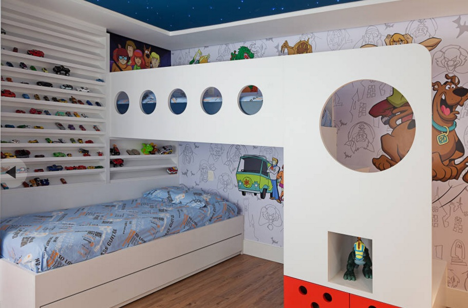 Dormitorios infantiles y juveniles de estilo ecl ctico - Dormitorios infantiles decoracion ...