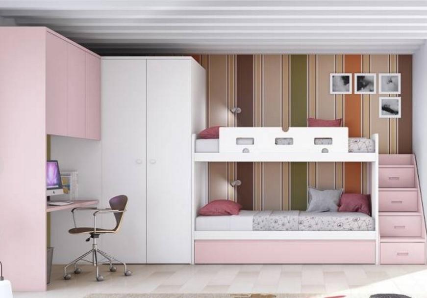 Muebles dormitorio infantil dormitorio infantil con - Muebles dormitorios infantiles ...