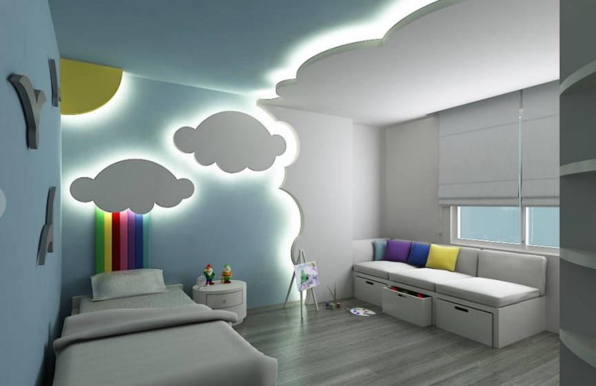 Dormitorios infantiles y juveniles de estilo ecl ctico for Muebles de dormitorio infantil